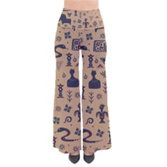 Vintage Tribal Seamless Pattern With Ethnic Motifs So Vintage Palazzo Pants