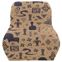 Vintage Tribal Seamless Pattern With Ethnic Motifs Car Seat Back Cushion