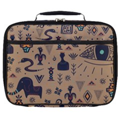 Vintage Tribal Seamless Pattern With Ethnic Motifs Full Print Lunch Bag