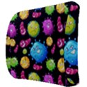 Seamless Background With Colorful Virus Back Support Cushion View3