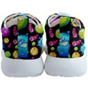 Seamless Background With Colorful Virus Mens Athletic Shoes View4