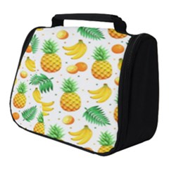 Tropical Fruits Pattern Full Print Travel Pouch (small)