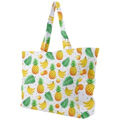 Tropical Fruits Pattern Simple Shoulder Bag