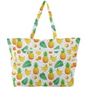 Tropical Fruits Pattern Simple Shoulder Bag View3