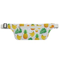 Tropical Fruits Pattern Active Waist Bag by Vaneshart