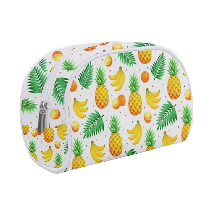 Tropical Fruits Pattern Makeup Case (Small)