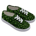 Seamless Pattern With Viruses Kids  Classic Low Top Sneakers View3