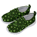 Seamless Pattern With Viruses Kids  Velcro No Lace Shoes View2