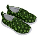 Seamless Pattern With Viruses Kids  Velcro No Lace Shoes View3