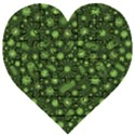 Seamless Pattern With Viruses Wooden Puzzle Heart View1