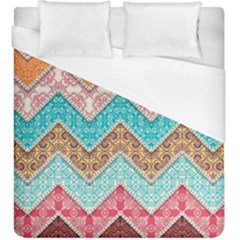 Ethnic Floral Pattern Duvet Cover (king Size)