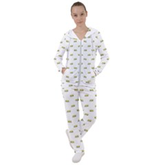 Ant Sketchy Comic Style Motif Pattern Women s Tracksuit