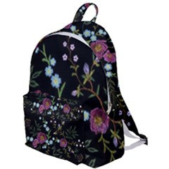 Embroidery Trend Floral Pattern Small Branches Herb Rose The Plain Backpack