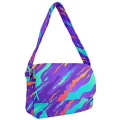 Multicolored Abstract Background Courier Bag