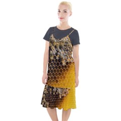 Honeycomb With Bees Camis Fishtail Dress