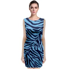 Zebra 3 Classic Sleeveless Midi Dress