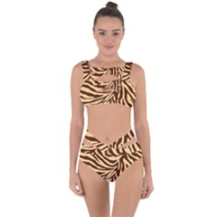 Zebra 2 Bandaged Up Bikini Set  by dressshop