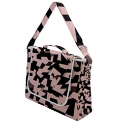 Sahara Street Pink Black Box Up Messenger Bag