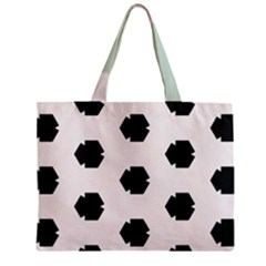 Sahara Street Mint Polka Dots Zipper Mini Tote Bag