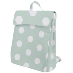 Sahara Street Mint Flap Top Backpack