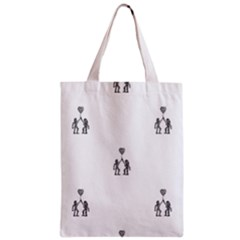 Love Symbol Drawing Classic Tote Bag