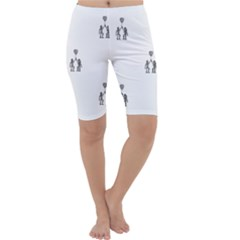 Love Symbol Drawing Cropped Leggings