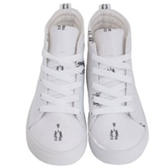 Love Symbol Drawing Kids  Hi-top Skate Sneakers