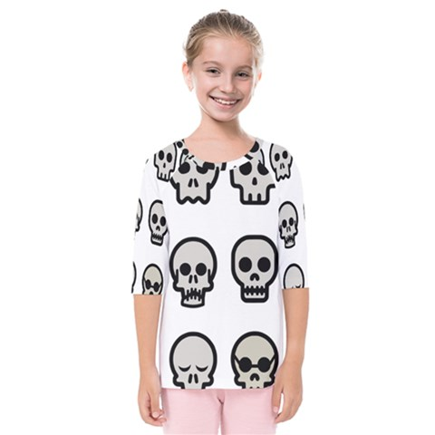Avatar Emotions Icon Kids  Quarter Sleeve Raglan Tee by Sudhe