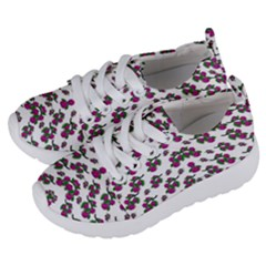 Sakura Blossoms On White Color Kids  Lightweight Sports Shoes by pepitasart