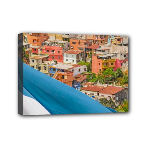 Santa Ana Hill, Guayaquil Ecuador Mini Canvas 7  X 5  (stretched)