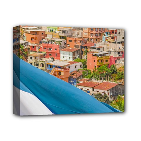 Santa Ana Hill, Guayaquil Ecuador Deluxe Canvas 14  X 11  (stretched) by dflcprintsclothing