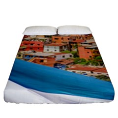 Santa Ana Hill, Guayaquil Ecuador Fitted Sheet (king Size)
