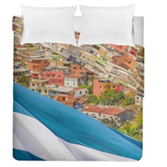 Santa Ana Hill, Guayaquil Ecuador Duvet Cover Double Side (queen Size) by dflcprintsclothing
