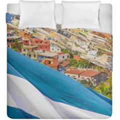 Santa Ana Hill, Guayaquil Ecuador Duvet Cover Double Side (king Size)