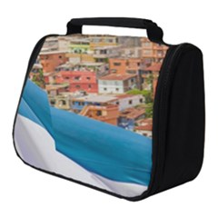 Santa Ana Hill, Guayaquil Ecuador Full Print Travel Pouch (small) by dflcprintsclothing