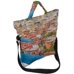 Santa Ana Hill, Guayaquil Ecuador Fold Over Handle Tote Bag