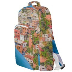 Santa Ana Hill, Guayaquil Ecuador Double Compartment Backpack