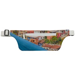 Santa Ana Hill, Guayaquil Ecuador Active Waist Bag by dflcprintsclothing