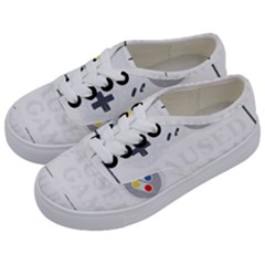 Ipaused2 Kids  Classic Low Top Sneakers by ChezDeesTees