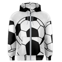 Soccer Lovers Gift Men s Zipper Hoodie by ChezDeesTees