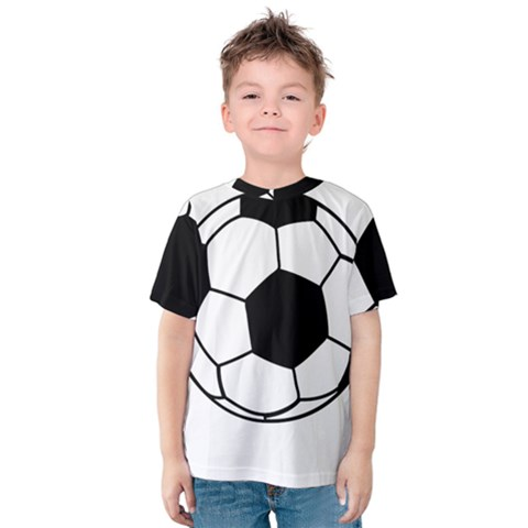 Soccer Lovers Gift Kids  Cotton Tee by ChezDeesTees