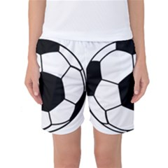 Soccer Lovers Gift Women s Basketball Shorts by ChezDeesTees