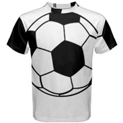 Soccer Lovers Gift Men s Cotton Tee by ChezDeesTees