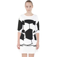 Soccer Lovers Gift Pocket Dress by ChezDeesTees