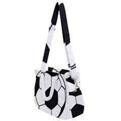 Soccer Lovers Gift Rope Handles Shoulder Strap Bag by ChezDeesTees