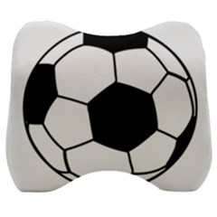 Soccer Lovers Gift Velour Head Support Cushion by ChezDeesTees