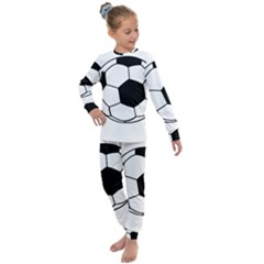 Soccer Lovers Gift Kids  Long Sleeve Set  by ChezDeesTees
