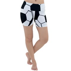 Soccer Lovers Gift Lightweight Velour Yoga Shorts by ChezDeesTees
