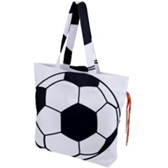 Soccer Lovers Gift Drawstring Tote Bag by ChezDeesTees