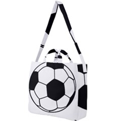 Soccer Lovers Gift Square Shoulder Tote Bag by ChezDeesTees